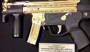 Pakistan tặng Thái tử Saudi Arabia súng máy bọc vàng