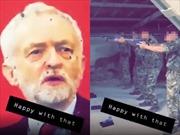 Quân đội Anh điều tra vụ binh sĩ dùng ảnh lãnh đạo đảng đối lập làm bia tập bắn