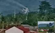 Video máy bay cứu hộ lao thẳng vào khu nghỉ dưỡng tại Philippines
