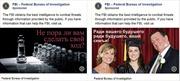 FBI công khai tuyển điệp viên Nga trên Facebook
