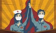 Báo Anh viết về các họa sĩ vẽ tranh cổ động chống COVID-19 tại Việt Nam