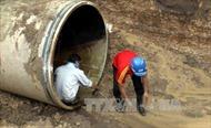 Công tynước sạch sông Đà ngừng cung cấp nước trên địa bàn Hà Nội