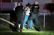 Xuất hiện video Phó cảnh sát trưởng Mỹ đấm liên tiếp vào đầu người phụ nữ da màu