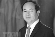 Cộng hòa Dân chủ Nhân dân Lào gửi Điện chia buồn về việc Chủ tịch nước Trần Đại Quang từ trần