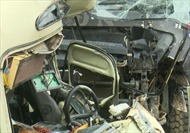 Xe tải va chạm với xe khách tại Phú Thọ, 6 người bị thương nặng