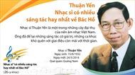 Thuận Yến - Nhạc sĩ có nhiều sáng tác hay nhất về Bác Hồ
