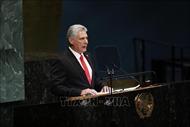 Chủ tịch Cuba thảo luận quan hệ song phương với các nghị sĩ Mỹ