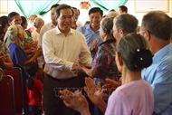 Trưởng Ban Kinh tế Trung ương Nguyễn Văn Bình dự Ngày hội Đại đoàn kết toàn dân tộc tại Hà Tĩnh