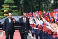 Thủ tướng Vương quốc Campuchia kết thúc tốt đẹp chuyến thăm Việt Nam