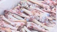 360 kg xương dê không rõ xuất xứ đang trên đường vào TP Hồ Chí Minh tiêu thụ