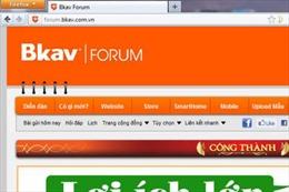 Đã xác định được thủ phạm tấn công diễn đàn Bkav Forum