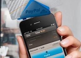 PayPal có dịch vụ thanh toán qua di động