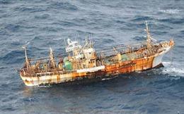 """Hải quân Mỹ đánh chìm """"tàu ma"""" của Nhật Bản"""