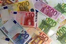 Đồng euro trượt giá so với USD tại châu Á