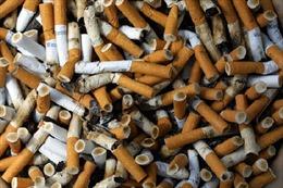 Lắp 10.000 gạt tàn để gom mẩu thuốc lá