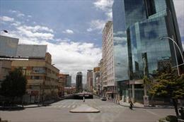 Bolivia 'tê liệt' vì tổng điều tra dân số