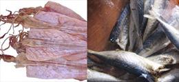 Không phát hiện chất độc trong cá, mực khô