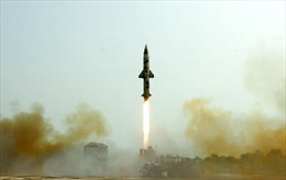 Ấn Độ lại thử tên lửa hạt nhân