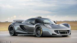 Siêu xe Hennessey Venom GT lập kỉ lục về tăng tốc