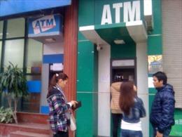 Không để nghẽn mạng ATM dịp Tết