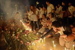 Rước linh cữu Cựu Vương Sihanouk đến Đài hỏa thiêu