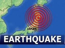 Động đất mạnh tấn công Nhật Bản