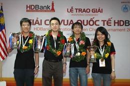Quang Liêm dự giải cờ vua quốc tế Việt Nam 2013