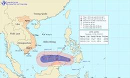 Áp thấp nhiệt đới có thể mạnh lên thành bão