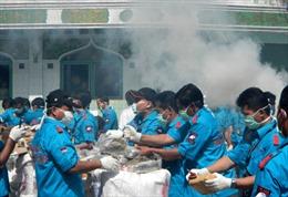 Indonesia vẫn là điểm trung chuyển ma túy trọng điểm