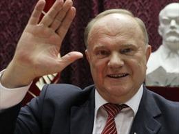 Ông G.Ziuganov được bầu lại làm Chủ tịch Đảng Cộng sản Nga