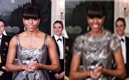 """Thông tấn xã Iran """"photoshop"""" bà Obama"""