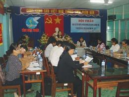 Bình Thuận trợ giúp pháp lý cho phụ nữ nông thôn