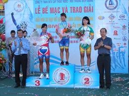 Cao Thị Cẩm Lệ giành 'áo vàng' giải đua xe đạp quốc tế Bình Dương