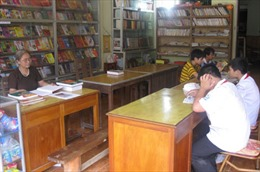 Thư viện của bà giáo nơi phố núi