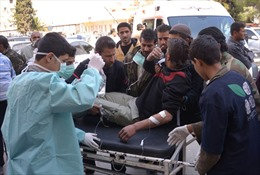 Chính phủ Xyri tố cáo quân nổi dậy dùng vũ khí hóa học