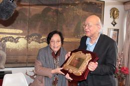 Trao giải thưởng văn hóa Phan Châu Trinh tại Pháp