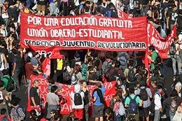 Sinh viên Chile biểu tình đòi cải cách giáo dục