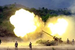 Campuchia diễn tập bắn đạn thật lần thứ hai