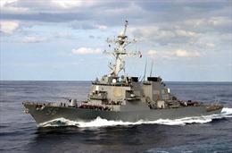 Mỹ điều chiến hạm thứ hai đến gần Triều Tiên