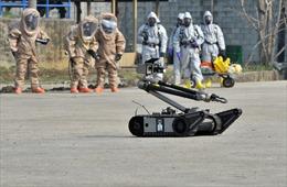 Mỹ điều tiểu đoàn phòng vệ phóng xạ tới Hàn Quốc