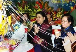 Đón Tết cổ truyền Bun Pi May - Lào tại Hà Nội