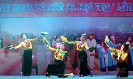 Khai mạc Hội trại văn hóa, liên hoan hát Xoan và dân ca Phú Thọ