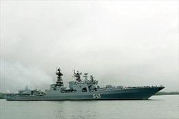 Tàu chiến Nga thăm cảng Hàn Quốc