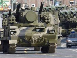 Xe tăng Nga 'nghịch' phố