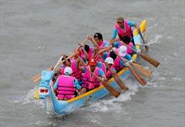 Giải đua thuyền truyền thống 2013 tại TPHCM