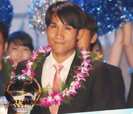"""Quả bóng vàng Việt Nam 2012: """"Quả bóng Vàng"""" của nghị lực"""