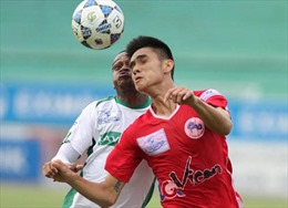 Hải Phòng leo lên nhì bảng V-League