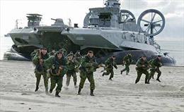 Hạm đội Baltic tập trận tác chiến mùa hè