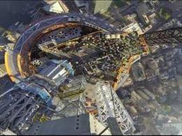 Ngắm Trung tâm Thương mại thế giới mới từ không trung