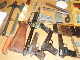 Hoàn tất hồ sơ vụ mua bán vũ khí xuyên quốc gia